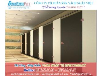Vách ngăn vệ sinh tấm Compact Laminate Composite giá rẻ TPHCM