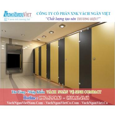 Vách Ngăn Vệ Sinh Compact Chịu Nước Tại Nha Trang - TPHCM