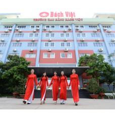 Vách ngăn vệ sinh Trường CĐ Bách Việt