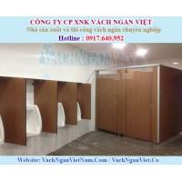 Vách ngăn vệ sinh bằng tấm Compact giá rẻ tại TPHCM