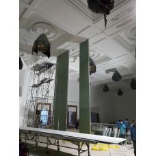 Dự án : Vách Ngăn Di Động Cao 9m tại Trung Tâm Tiếp Kiến Quốc Phòng