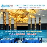 Vách Ngăn Việt - Thi công Vách Ngăn Di Động Nhà Hàng Tiệc Cưới Aqua Palace